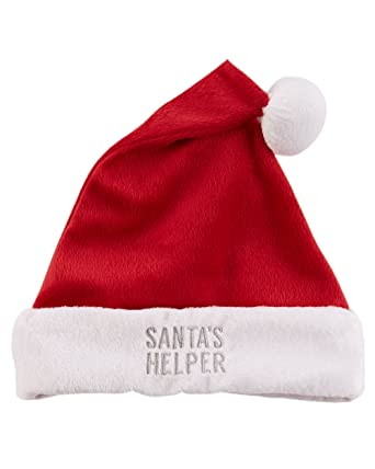 Amazon.com  Carter s Baby Santa Hat (Red 28187aa16