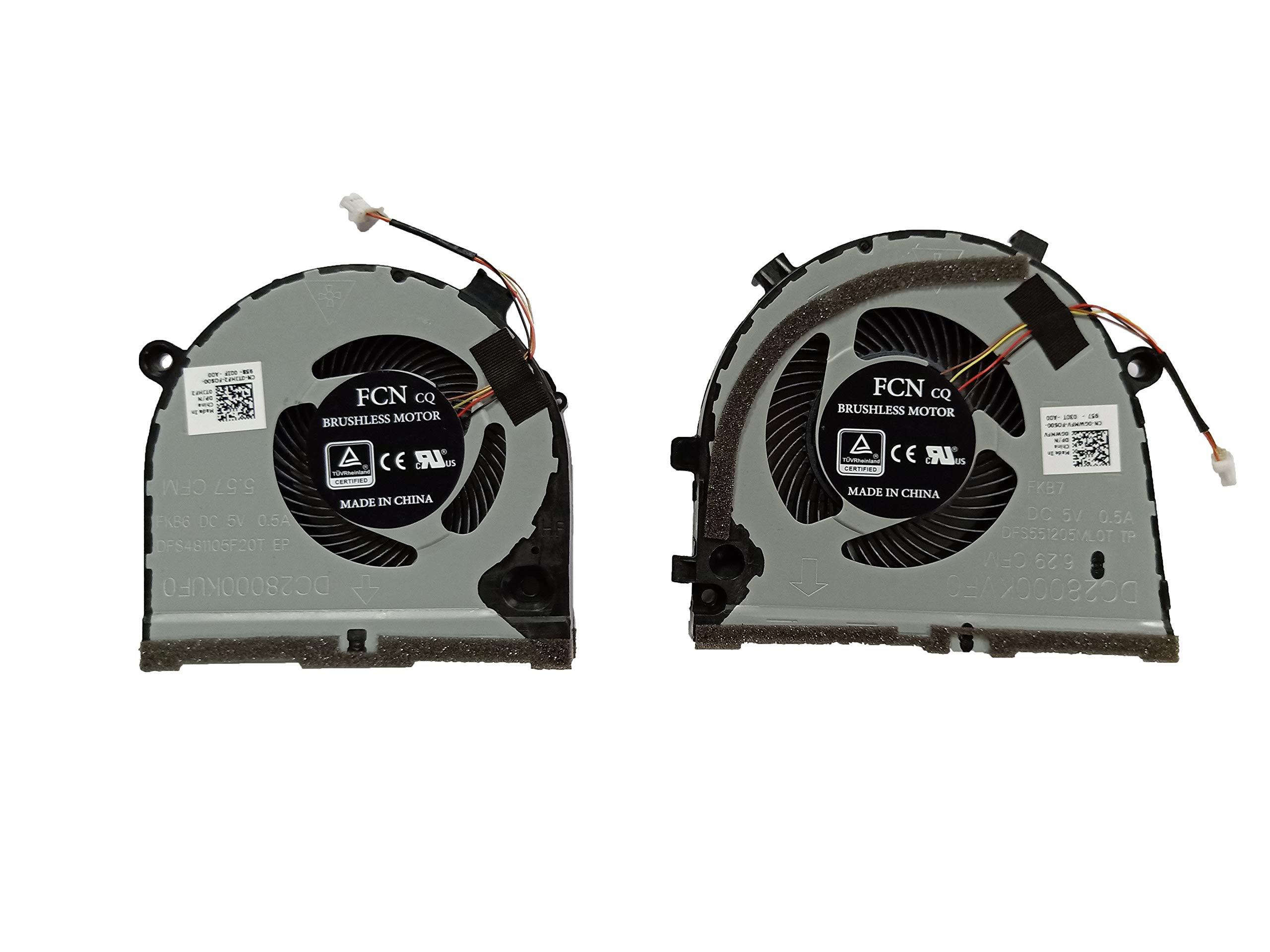 Cooler Cpu+gpu Para Dell Inspiron G5 15 5587 G3 G3- 3771 3579 3779 Series Game P/n: Cn-0tjhf2 Cn-0gwmfv Fcn Dfs481105f20