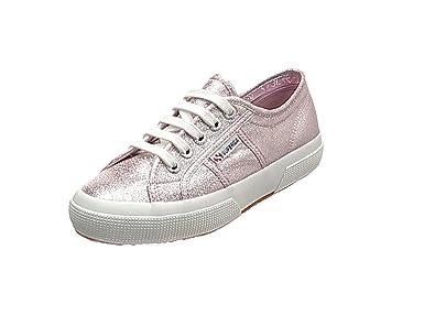 Superga Damen 2750 Lamew Sneakers, Platinum (Platinum), Gr. 35