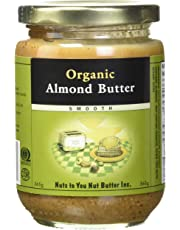 Nuts to You Nut Butter Almond Butter Smooth Organic, 365g