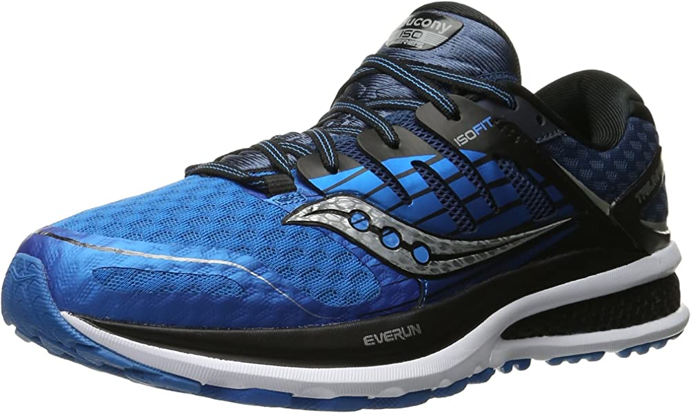 newest 73645 0bae6 Saucony Triumph ISO 2 Men 8 Blue  Black  Silver
