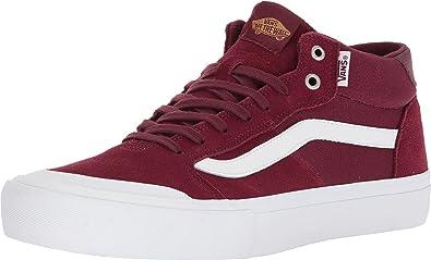 c2b5d8d40d9c49 Vans  quot Style 112 Mid Pro Sneakers Men s Canvas Suede Skate Shoes