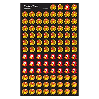 Trend Enterprises Inc. Turkey Time superShapes Stickers, 800 ct: Toys & Games