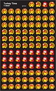 TREND ENTERPRISES, INC. Turkey Time superShapes Stickers, 800 ct