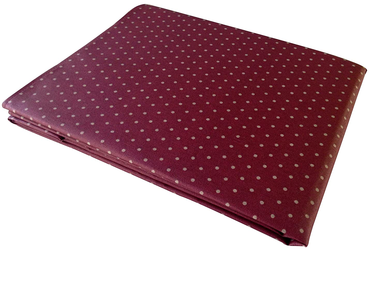 beige resinado y con Tefl/ón de Dupont/® Mantel de lunares anti manchas modelo Polka- calidad 50/% algod/ón 50/% poli/éster 100x150