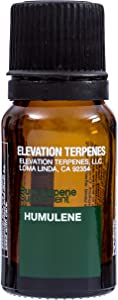 Elevation Terpenes 100% Humulene Food Grade Terpene 10 Milliliters (Produced in The USA)