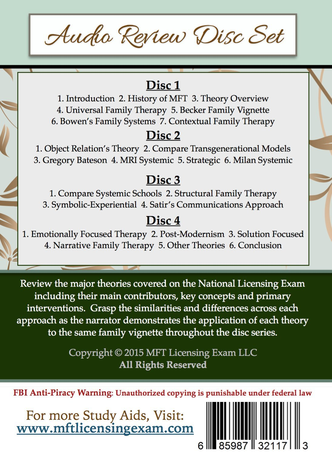 The national licensing exam for marriage and family therapy audio the national licensing exam for marriage and family therapy audio review disc set dmft lmft dr lucas a volini 0685987321173 amazon books biocorpaavc