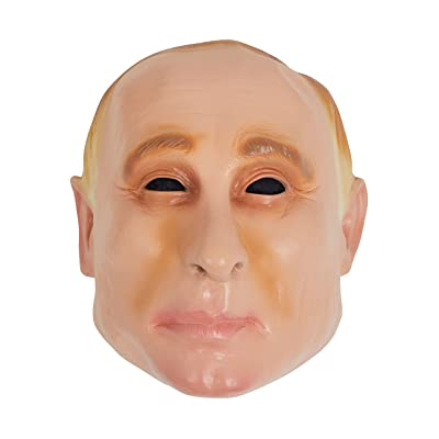 Bristol Novelty BM540 Vinyl Putin Mask, Unisex, Multi-Colour: Toys & Games