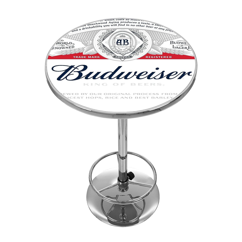 商標Gameroom Budweiserクロムパブテーブル   B0178HFY9E