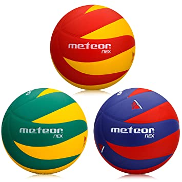 9ec4677b674d7 meteor Ballon de Volleyball Soft Touch Volley Ball Official Size 5 Indoor  Game New