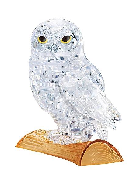 Amazon Beverly Crystal 3d Jigsaw Puzzle Clear Owl 42 Piece