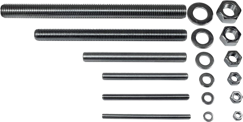 Verbundanker aus Edelstahl A4 SN-TEC Ankerstangen Gewindestangen M8 bis M24 f/ür Montagem/örtel und M/örtelpatronen L/änge von 110mm bis 300mm Rostfrei u. S/äurebest/ändig 1, M8 x 110mm