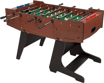 Ultrasport Futbolín D-fense, Plegable de 145 x 110 x 91 cm, Plegado 72 x 110 (Altura: 164 cm): Amazon.es: Juguetes y juegos