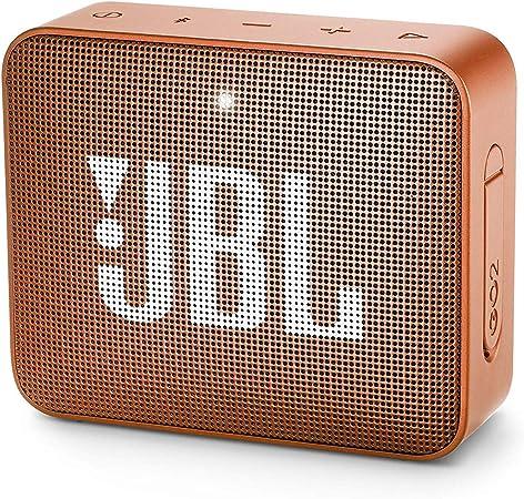 Comprar JBL GO 2 - Altavoz inalámbrico portátil con Bluetooth , Parlante resistente al agua (IPX7) , hasta 5h de reproducción con sonido de alta fidelidad , Naranja