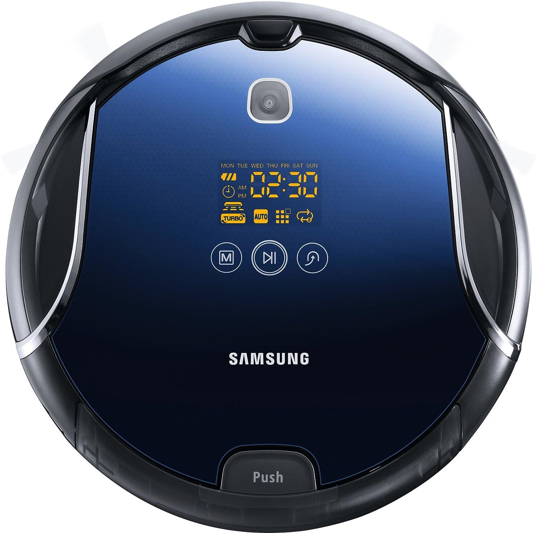 Samsung VCR8950L3B/XEG - Robot aspirador, filtro HEPA 11, batería recargable, autonomía 90 min, color azul: Amazon.es: Hogar