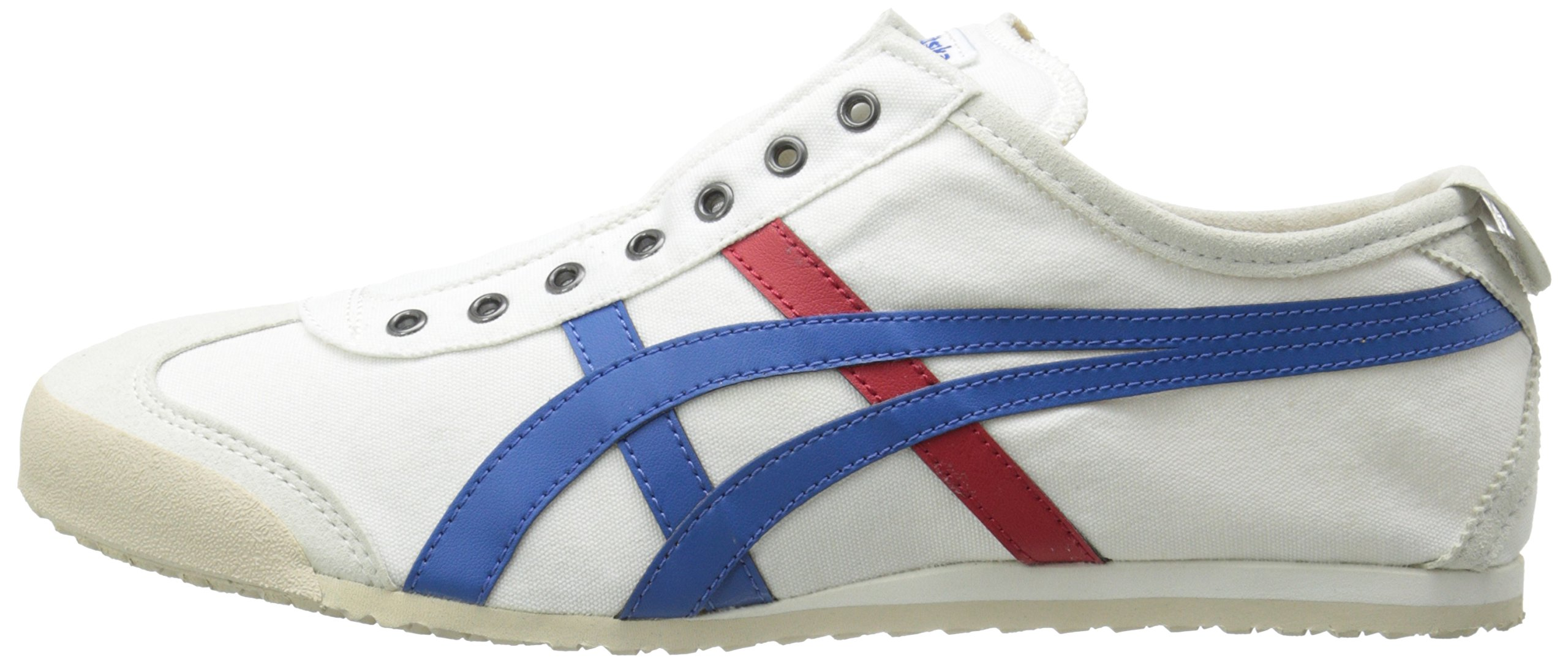 Onitsuka Tiger Unisex Mexico 66 Slip-on Shoes D3K0N, White/Tricolor, 9.5 M US by Onitsuka Tiger (Image #5)