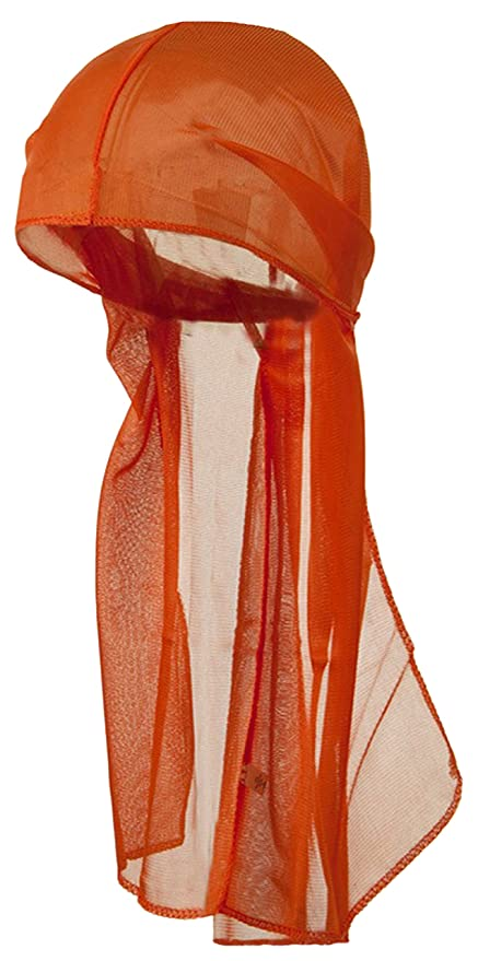 bc08018ce4448 Amazon.com  ORANGE Durag Do Rag Stocking Cap Short Hair Waves Sleeping  Nylon Wrap Ties  Everything Else