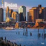 2017 Monthly Wall Calendar   Boston Massachusetts: Amazon.com: Books