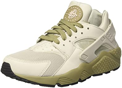 separation shoes 40e4f fb663 Nike Men s Air Huarache Run Trainers, Multicolour Light Bone Neutral Olive Black  050