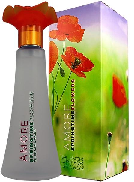 Perfume Frances de Alta Calidad Para Mujer Amore Springtime 100ml Noche y Día. Regalo de