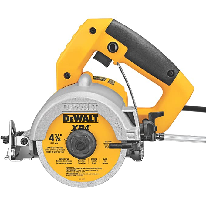 Best Concrete Saws: DEWALT DWC860W Wet/Dry Masonry Saw