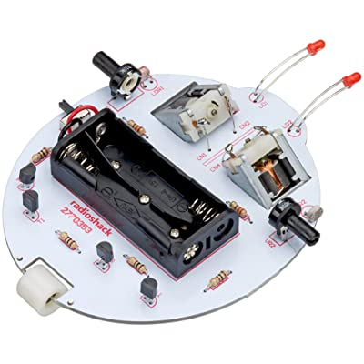 RadioShack Photosensitive Running Microbug Kit: Toys & Games