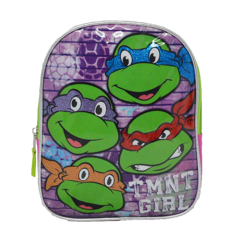 TMNT Ninja Turtlesピンク10-inch Miniバックパック   B01I7LTMKC