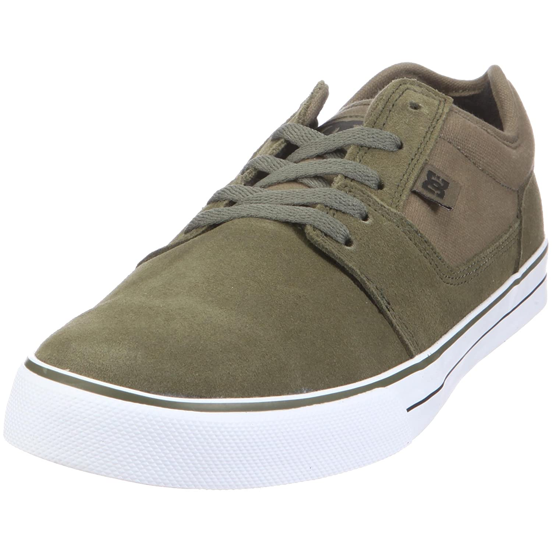 DC Shoes TONIK SHOE D0302905 - Zapatillas de ante para hombre 44.5 EU'|Verde