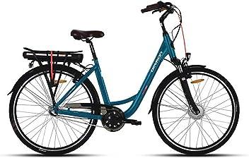 f708c15e74f4a1 LLobe Devron Marken Elektro Fahrrad Devron E-Bike City bleu - 36V 250 Watt