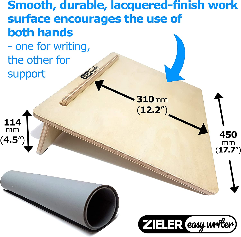 Pendiente de escritura ergonómica A3 con agarre MAT para una mejor ...
