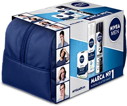 NIVEA MEN Sensitive Neceser - 1 Pack: Amazon.es: Belleza