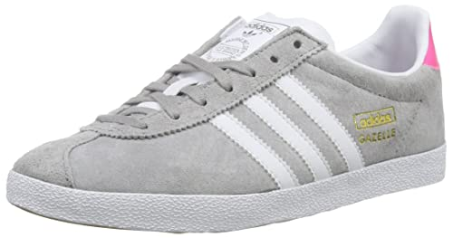 adidas - Gazelle Og, Sneakers da Donna, Grigio (Mgh Solid Grey/Ftwr