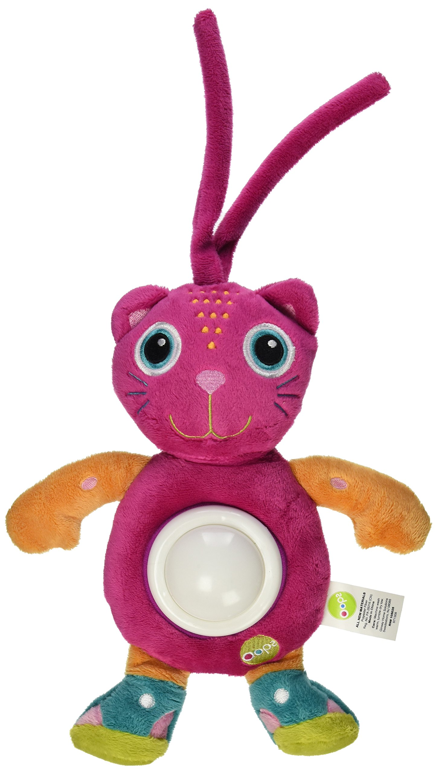 Oops Jerry Soft Night Light – Encourages Imaginative and Mental Development – Safe and Easy Clean – Ages 3 Months and Up