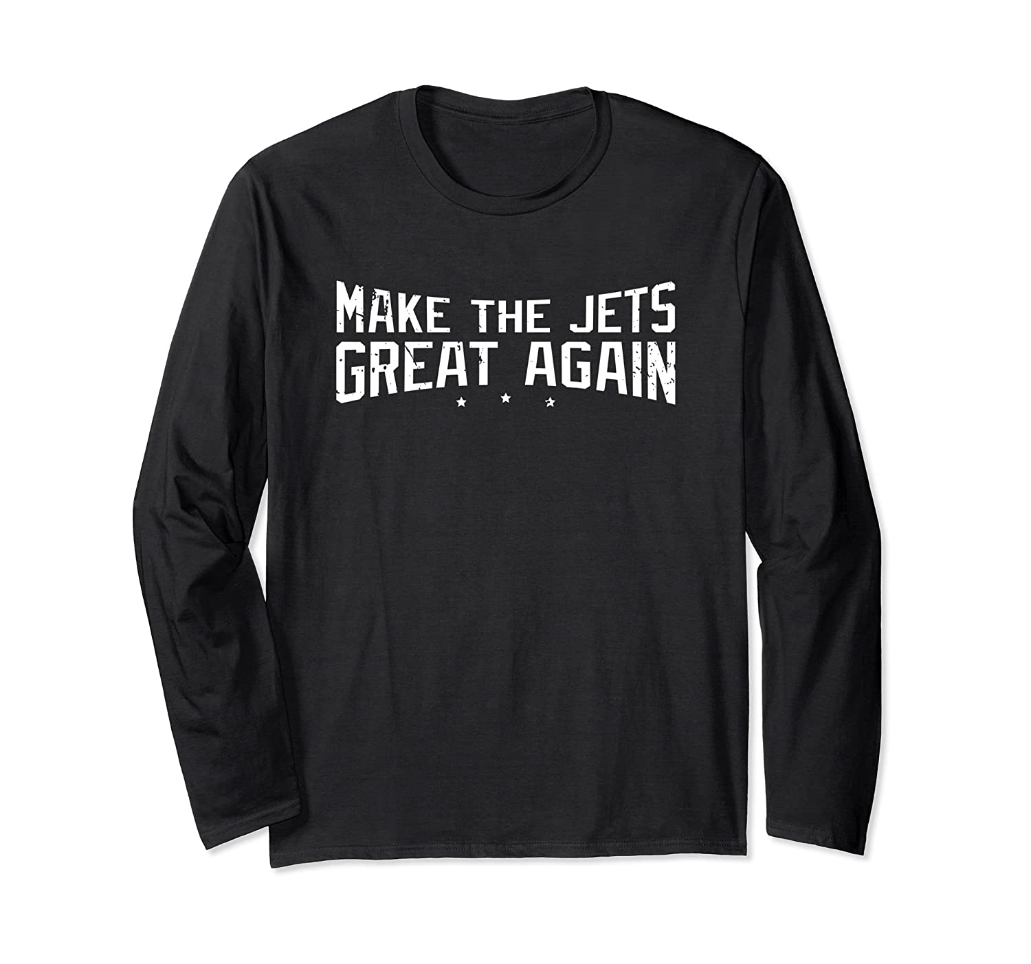 Funny Jets Long Sleeve - Make The Jets Great Again Shirt-mt