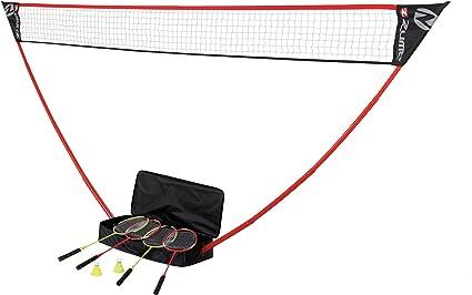 Easy Set Ultra Portable Garden//Park Badminton game set x2 rackets x2 shuttles