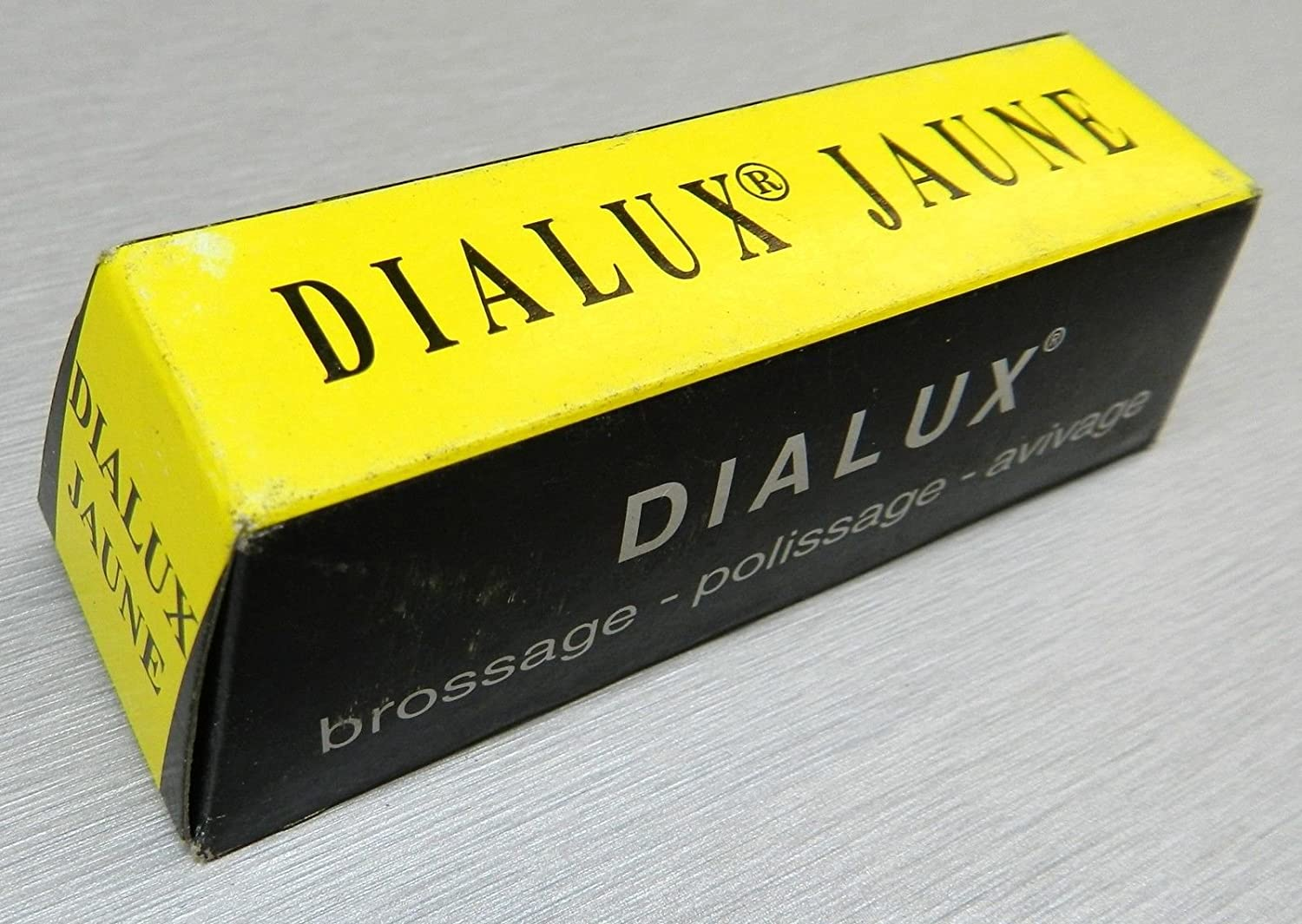 YELLOW DIALUX JAUNE YELLOW METALS POLISHING COMPOUND ROUGE BRASS