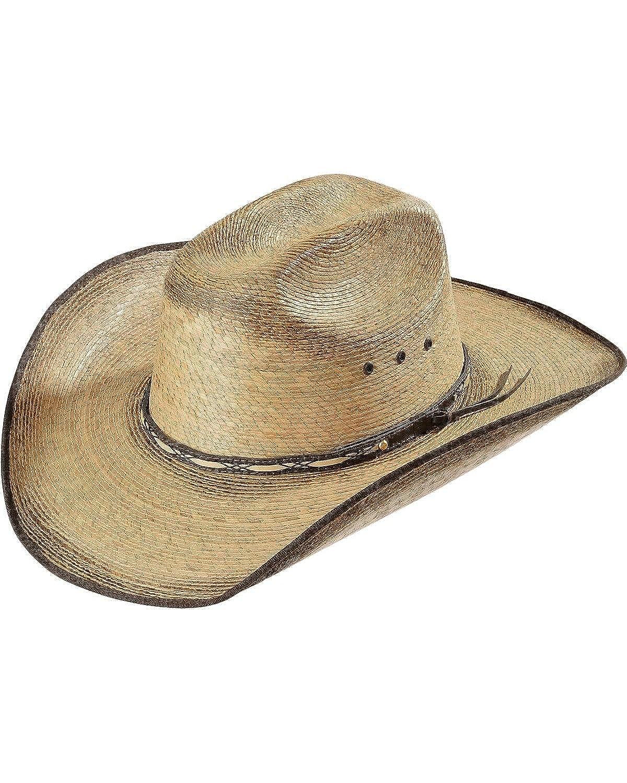 d167090e208 Amazon.com  Resistol Jason Aldean Boys Amarillo Sky Jr. Straw Cowboy Hat  Tan One Size  Clothing