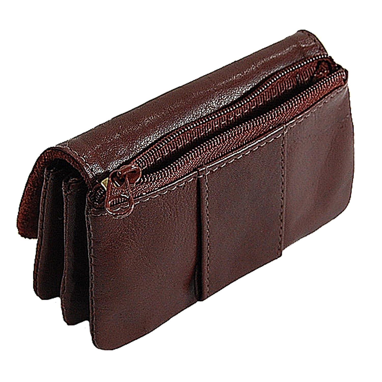 1a27131734b19 BOCCX kleine Herren Gürtelbörse Leder Geldbörse Portemonnaie Geldbeutel  10011 präsentiert von GoBago (Braun)  Amazon.de  Koffer