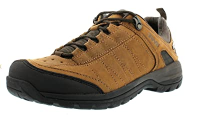 Teva Kimtah eVent Leather W's, Damen Trekking- & Wanderhalbschuhe, Braun (561 bison), 38 EU (5 Damen UK)