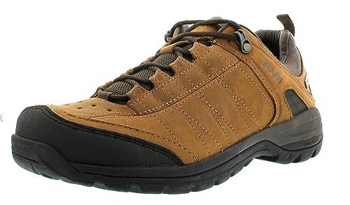Teva Kimtah eVent Leather Ws 8809 - Zapatillas de montaña de cuero para mujer, color