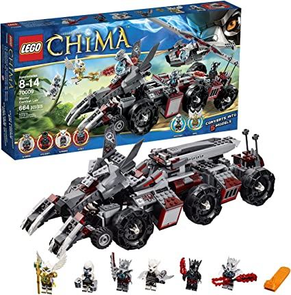 70009 Worriz/' Combat Lair Set LEGO Legends of Chima