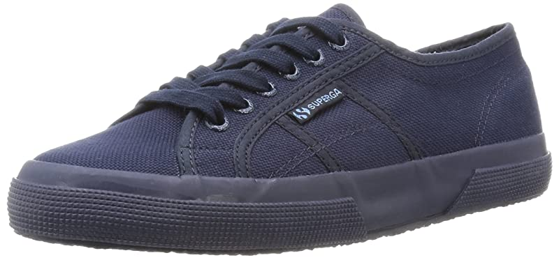 Superga 2750 Cotu Classic Sneakers Low-Top Unisex Damen Herren Blau