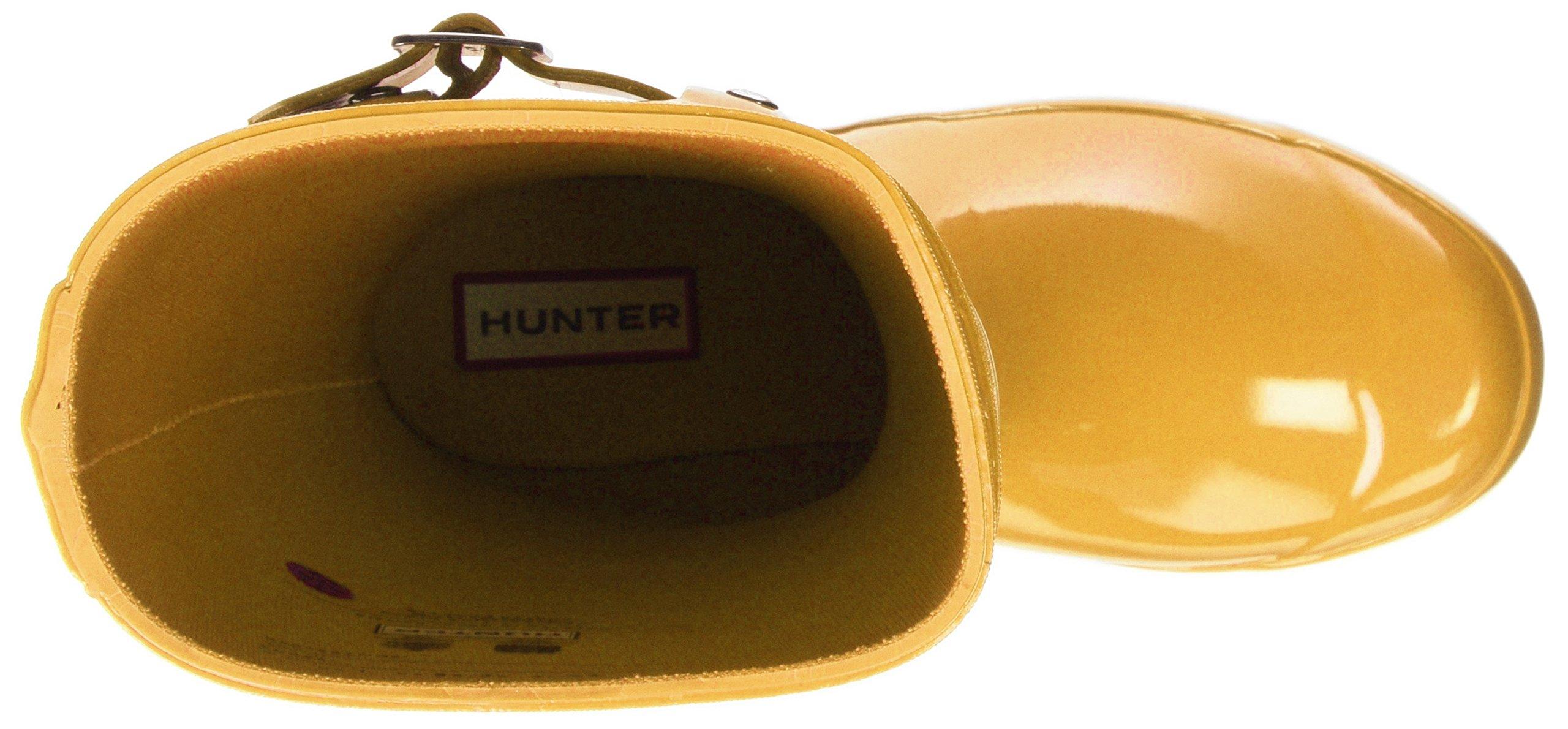 Hunter Kids' Original Gloss Boot, 34, Yellow by Hunter Kids (Image #7)