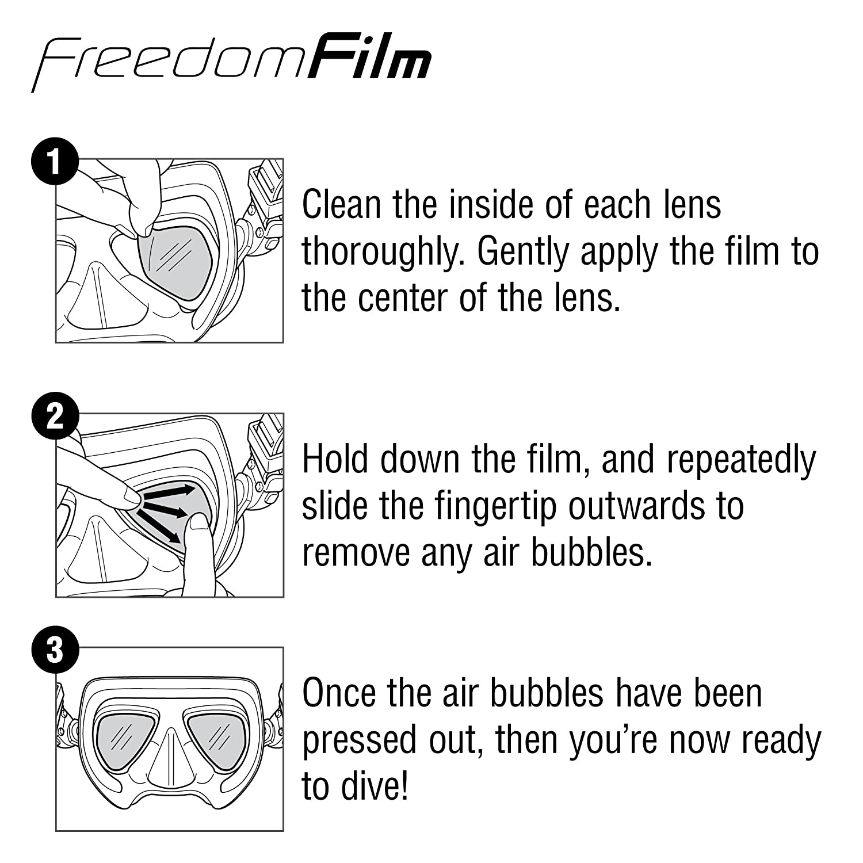 TUSA Sport Anti-Fog Freedom Film Tabata USA Inc TA-0801A
