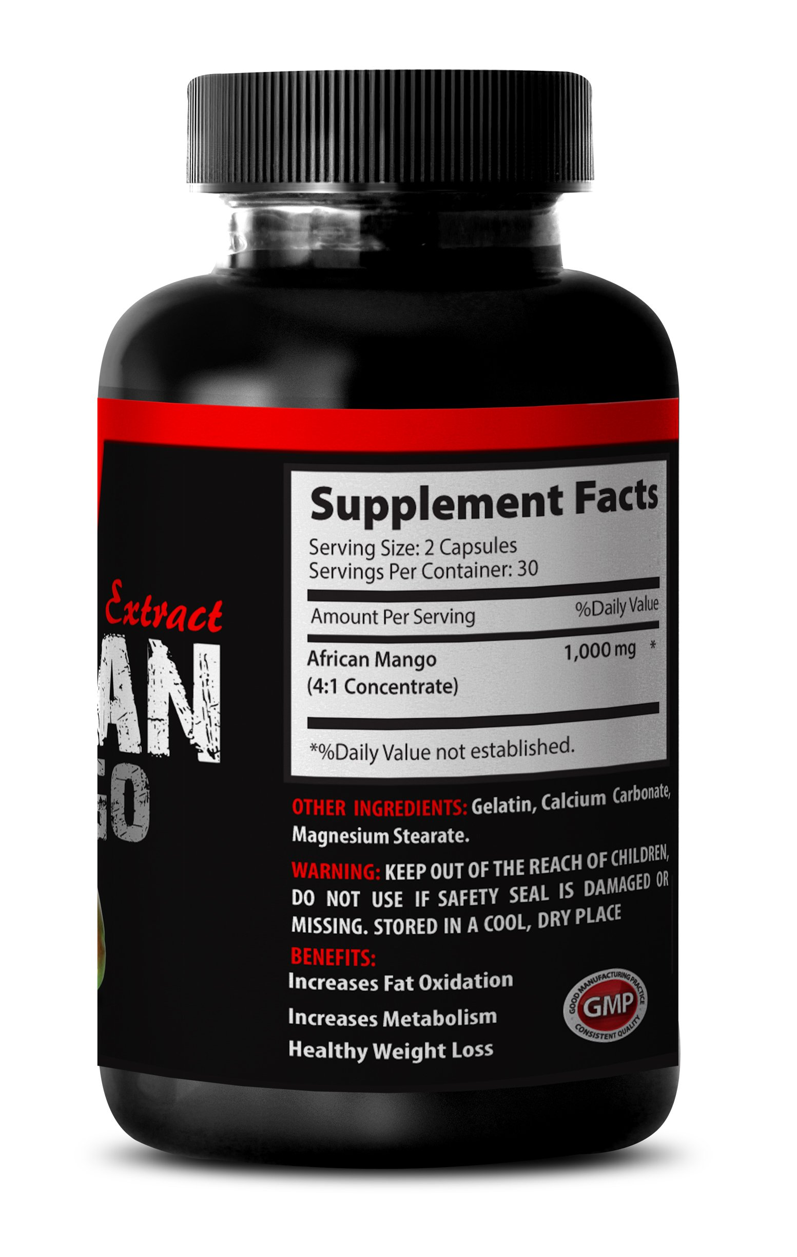 Supreme African Mango Weight Loss- African Mango 1000mg - African Mango Extract - Weight Loss (6 Bottles 360 Capsules) by MANGO (Image #4)
