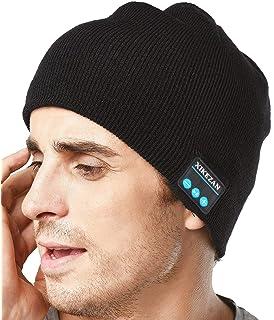 0d0c160afbe XIKEZAN Unisex Bluetooth Beanie Winter Knit Hat V4.1 Wireless Musical  Headphones Earphones w
