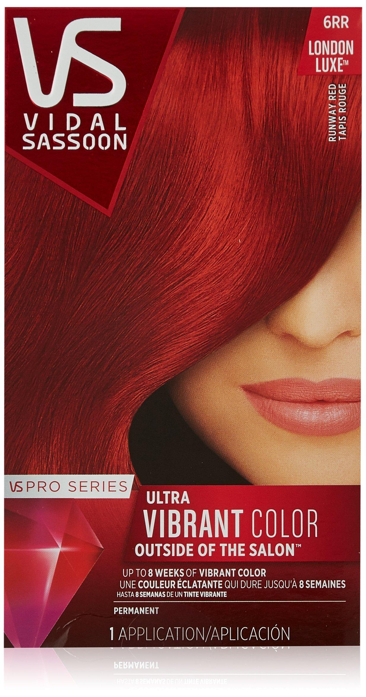 Vidal Sassoon London Luxe 6rr Runway Red 1 Kit