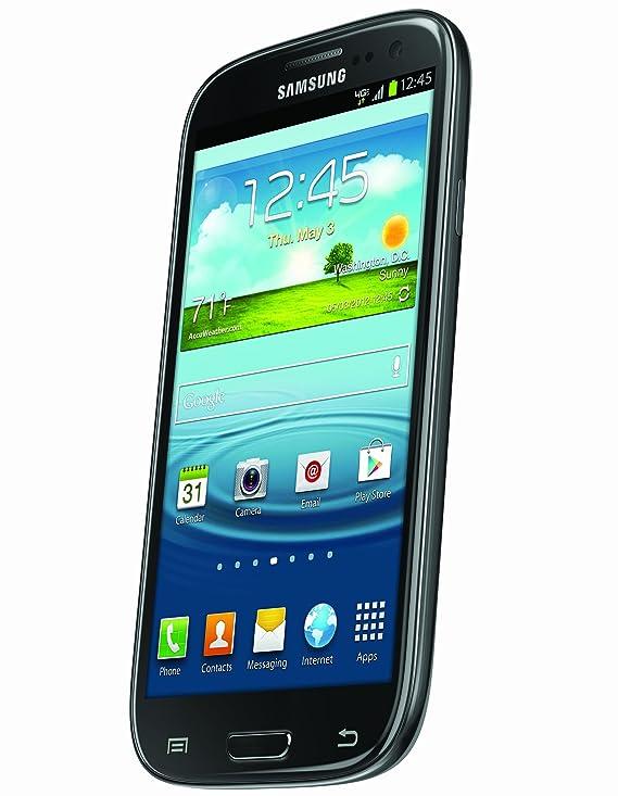 Amazon com: Samsung Galaxy S3, Black 16GB (Verizon Wireless