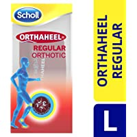 Scholl Orthaheel Regular Orthotic, Large, 1 Pair
