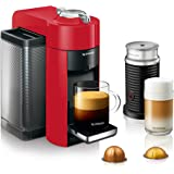Nespresso Vertuo Coffee and Espresso Machine by De'Longhi with Aeroccino Milk Frother